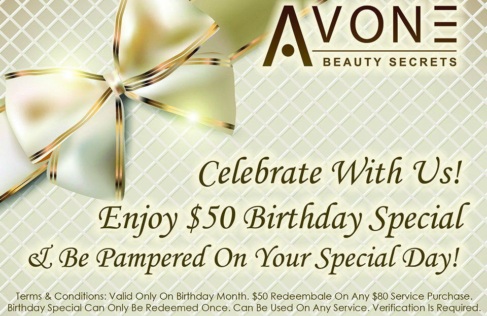 Birthday Special At AvonE Beauty Secrets